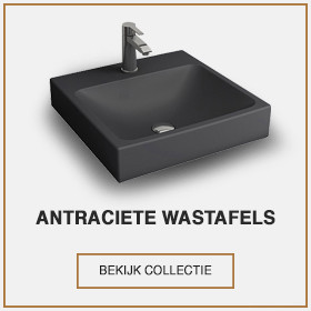 Antraciete wastafel