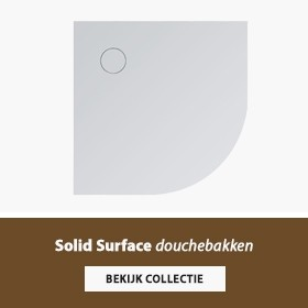 Solid Surface douchebak banner