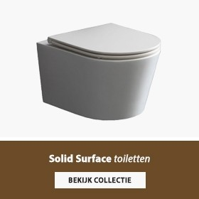 Solid surface toiletten banner